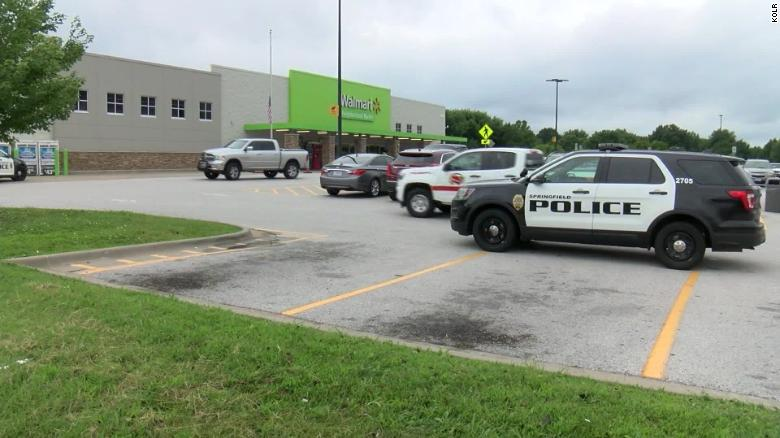An active shooter was reported at a Springfield, Missouri Walmart but no shots were fired, police said.