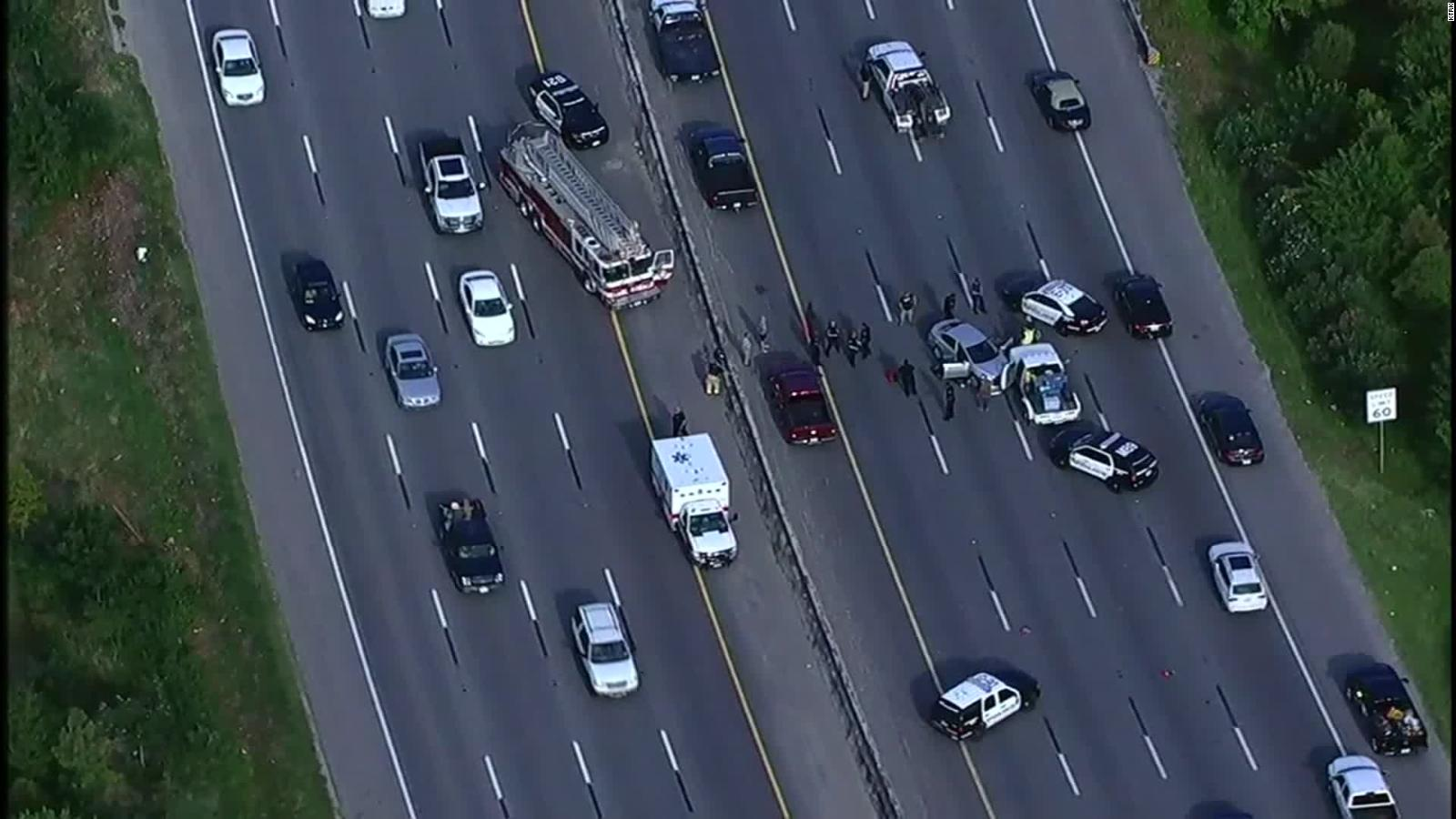 Map Of Arizona Freeway Shootings.Two People Killed In Rush Hour Shooting