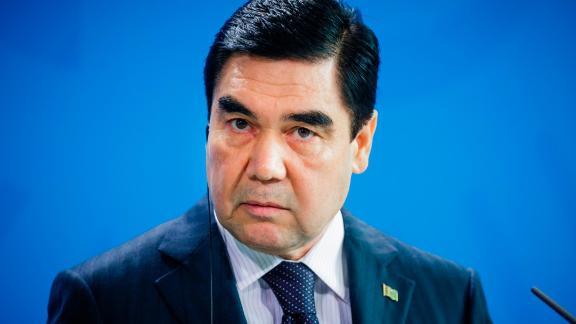 President Gurbanguly Berdimuhamedow.