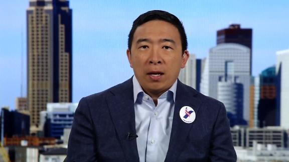 Andrew Yang on New Day