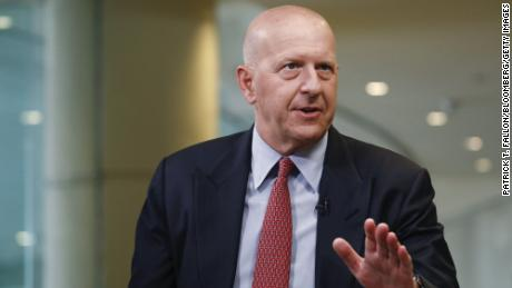 Exclusive: Goldman Sachs CEO does not see a threatening economic crisis