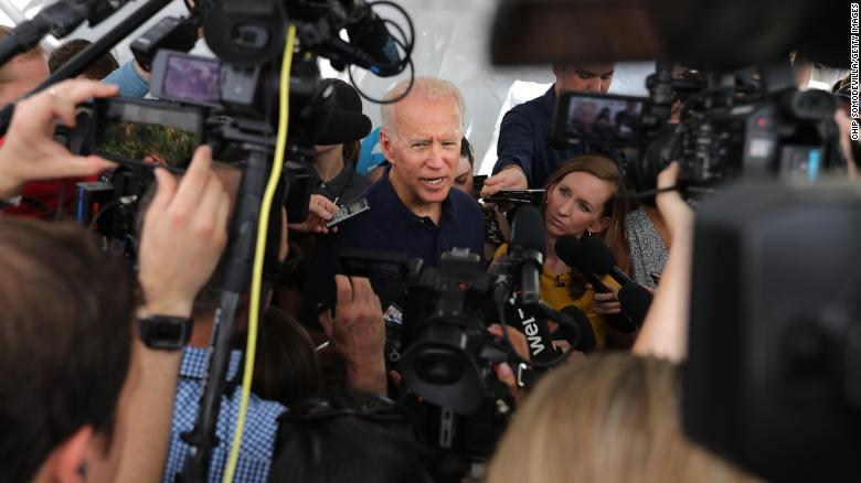 Joe Biden hears your taunts about his age, but he's busy running for president