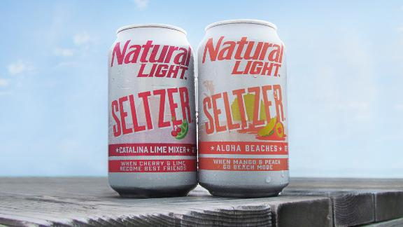 Natural Light Seltzer is rolling onto shelves this month.