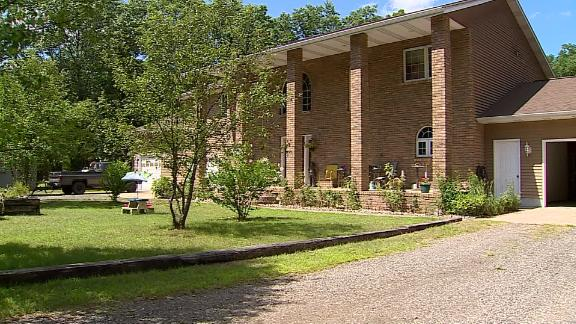 Potential home buyers  saw the KKK application while touring Anderson
