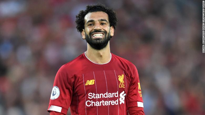 Salah was on target in Liverpool's 4-1 win over Norwich in its opening league game of the season.
