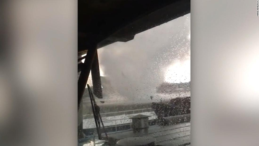 Rare tornadoes in Europe caught on video