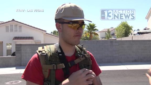 Conor Climo was reported in 2016 to be patrolling his neighborhood with an AR-rifle.