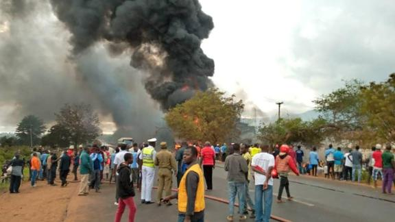 More than 50 dead in oil explosion in Tanzania