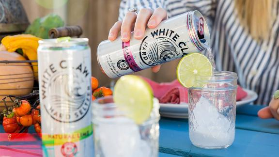 White Claw hard seltzer has been parodied and memed.