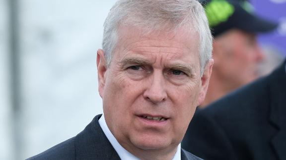HARROGATE, ENGLAND - JULY 11: HRH Prince Andrew, Duke of York visits the Showground on the final day of the 161st Great Yorkshire Show on July 11, 2019 in Harrogate, England. Organiser's of the show this year have revealed that overall entries for the three-day show are higher than in any previous years. The Great Yorkshire Show is England's premier agricultural event and is organised by the Yorkshire Agricultural Society. The YAS support and promotes the farming industry through health care, business, education and funding scientific research into rural affairs. First held in 1838 the show brings together agricultural displays, livestock events, farming demonstrations, food, dairy and produce stands as well as equestrian events. The popular agricultural show is held over three days and celebrates the farming and agricultural community and their way of life. (Photo by Ian Forsyth/Getty Images)