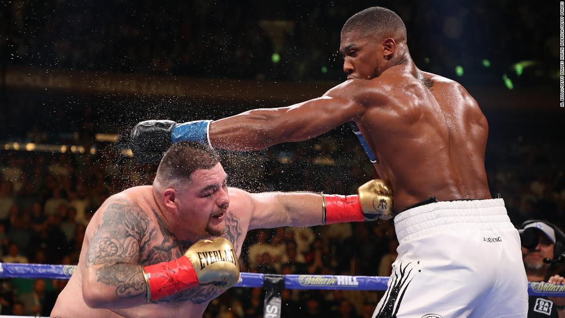Anthony Joshua and Andy Ruiz Jr. rematch in Saudi Arabia draws criticism - CNN