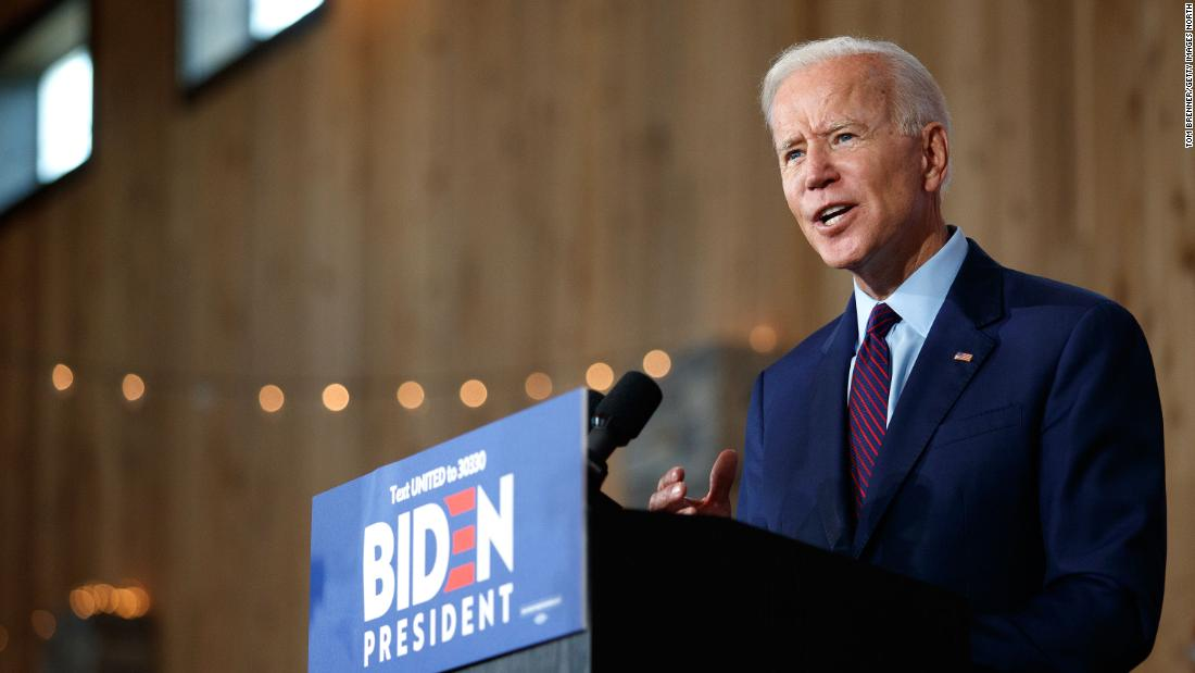 Umfrage zeigt Biden, Hals und Nacken mit Sanders und Warren