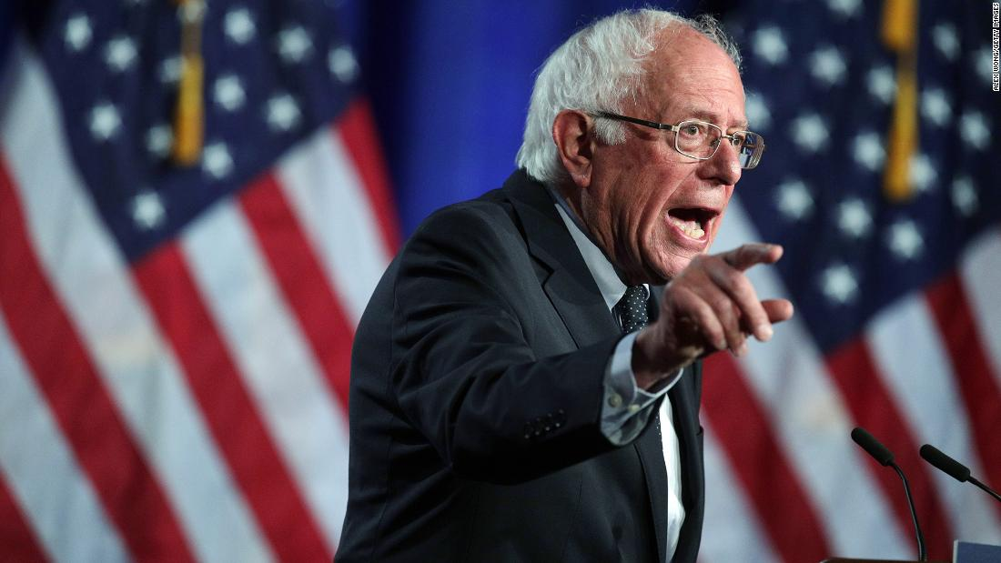 Bernie Sanders unveils plan to overhaul country's 'dysfunctional criminal justice system' - CNN