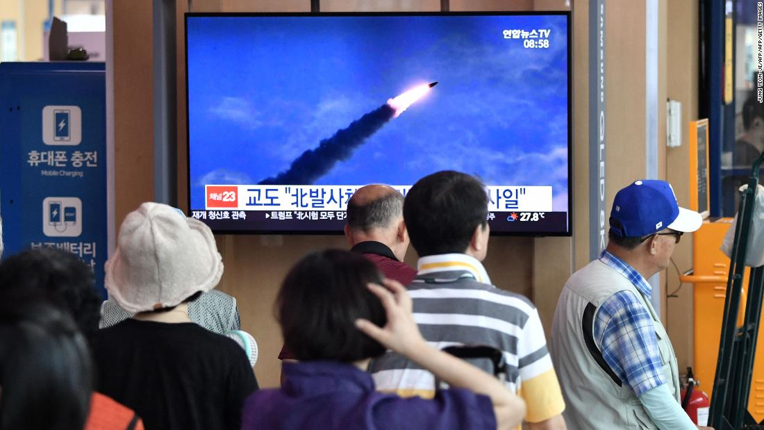 North Korea fires two more ballistic missiles as it vows to end talks with 'impudent' South Korea