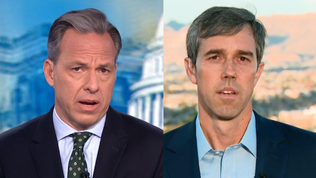 Tapper to O'Rourke: Is it racist to vote for Trump in 2020?