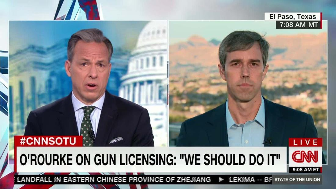 Beto O'Rourke says both Democrats and Republicans are to blame for lack of gun legislation