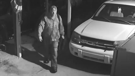 Surveillance shows Watson outside a Henning, Tennessee home.