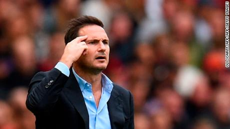 Chelsea's head coach Frank Lampard is set to take charge of his first European game.