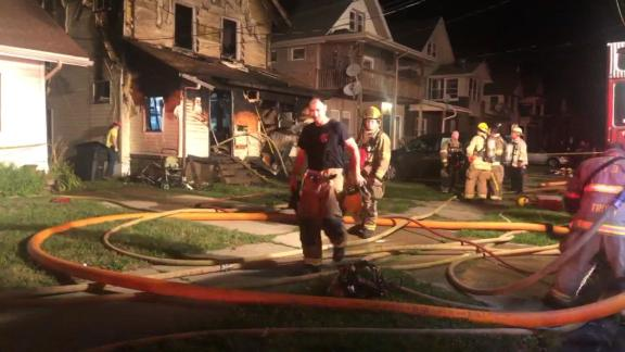 The Erie fire chief says the home didn't have enough smoke detectors.