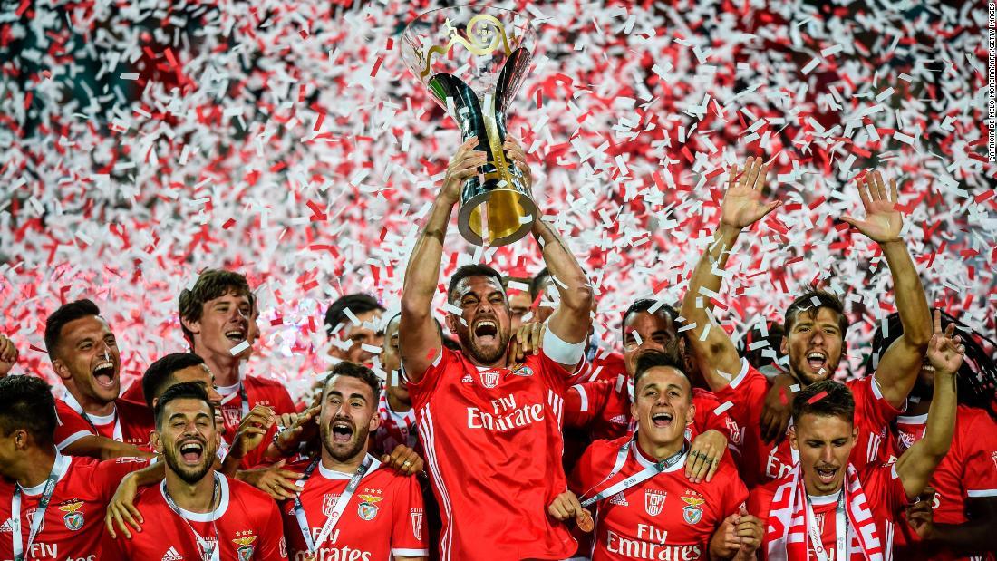 Benfica's success story? Its legendary academy