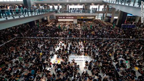Hong Kong airport shutdown: What business and economy mean