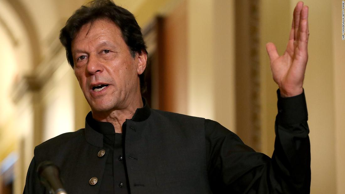Pakistan's Prime Minister Imran Khan calls for chemical castration of those convicted of rape