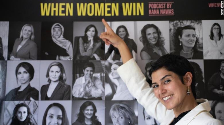 'When Women Win' charged to the top of the Most-Listened To podcast list for iTunes in the Middle East.