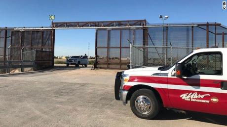 Officials are looking for a man who went missing in the Rio Grande on Monday.