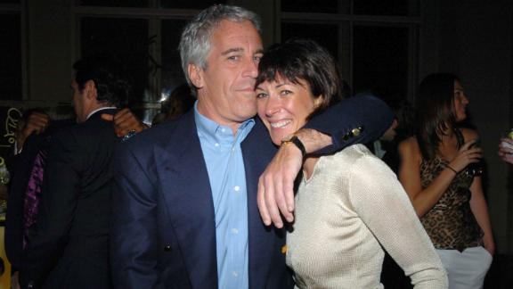 Jeffrey Epstein and Ghislaine Maxwell attend an event on March 15, 2005, in New York City.
