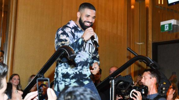 Drake in Toronto on August 2