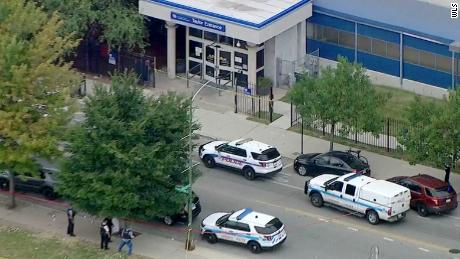 Authorities have not identified the gunman arrested at Jesse Brown VA Medical Center in Chicago.
