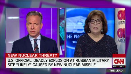 U S  official: Deadly Russian blast likely caused by new nuclear missile