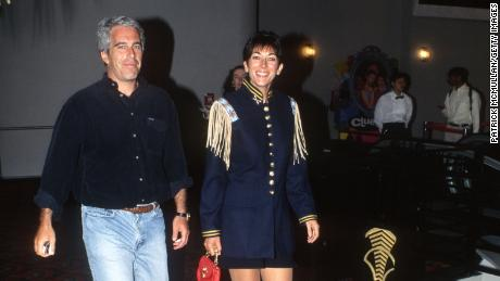 Jeffrey Epstein and Ghislaine Maxwell in 1995