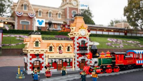 Lego Disney train and Station Set: Pricing, features and