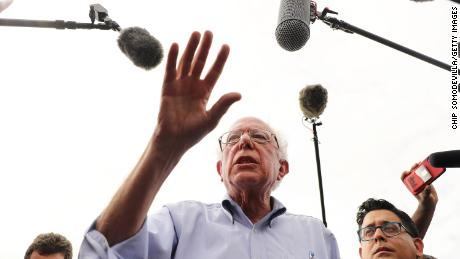Bernie Sanders alleviates criticism of the Washington Post, but expresses frustration over coverage of the campaign