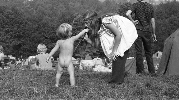 More than 100 of photojournalist Richard F. Bellak's never-before-seen Woodstock photographs have been published ahead of the festival's 50th anniversary. Scroll through to see more of Bellak's images.