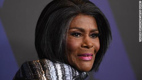 US actress and honoree Cicely Tyson attends the 10th Annual Governors Awards gala hosted by the Academy of Motion Picture Arts and Sciences at the the Dolby Theater at Hollywood & Highland Center in Hollywood, California on November 18, 2018.  (Photo credit: VALERIE MACON/AFP/Getty Images)
