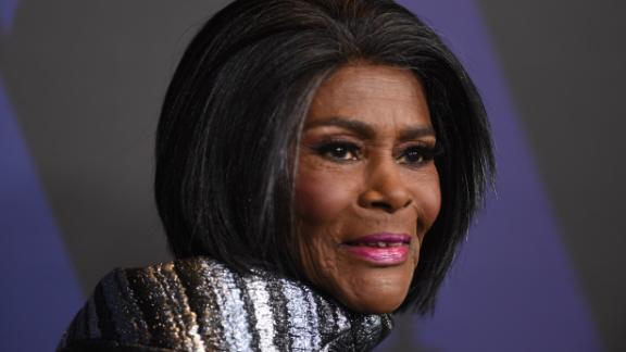 US actress and honoree Cicely Tyson attended the 10th Annual Governors Awards gala hosted by the Academy of Motion Picture Arts and Sciences at the the Dolby Theater at Hollywood & Highland Center in Hollywood, California on November 18, 2018.  (Photo credit: VALERIE MACON/AFP/Getty Images)