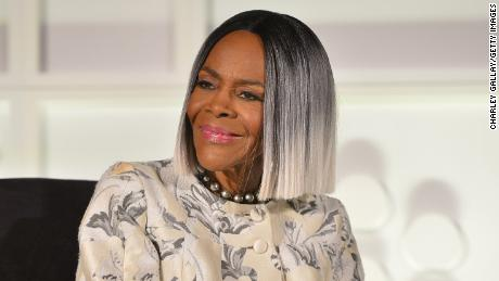 Actor Cicely Tyson speaks onstage astatine  the screening of 'Sounder' during Day 2 of the 2018 TCM Classic Film Festival connected  April 27, 2018 successful  Hollywood, California. 350569.  (Photo by Charley Gallay/Getty Images for TCM)
