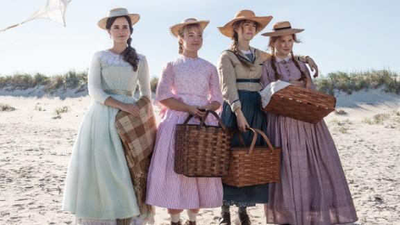 Emma Watson, Florence Pugh, Saoirse Ronan and Eliza Scanlen in