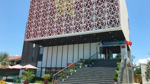 The $1.8 million Paracel Islands Museum opened in Da Nang, Vietnam, in 2018.