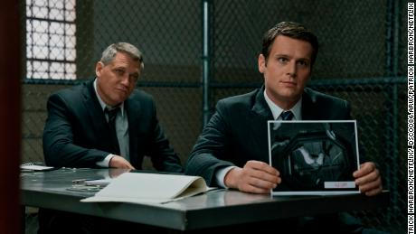 Holt McCallany, Jonathan Groff in & # 39; Mindhunter & # 39;