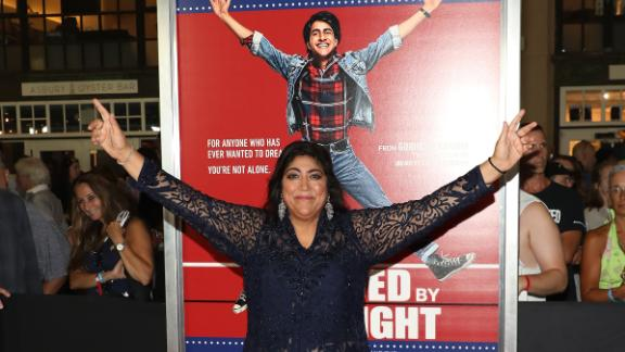 Gurinder Chadha at the premiere of