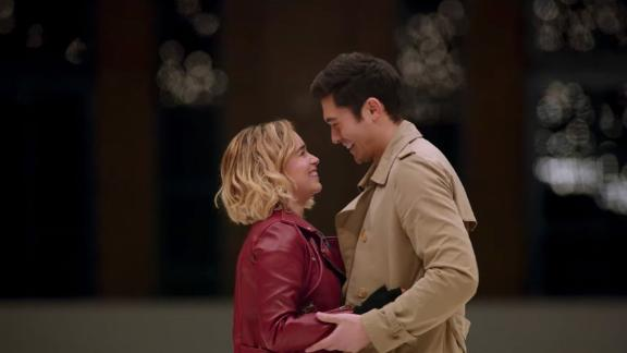 """Emilia Clarke and Henry Golding star in """"Last Christmas."""""""
