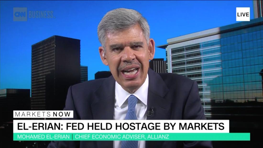 El-Erian: Markets are holding the Fed hostage