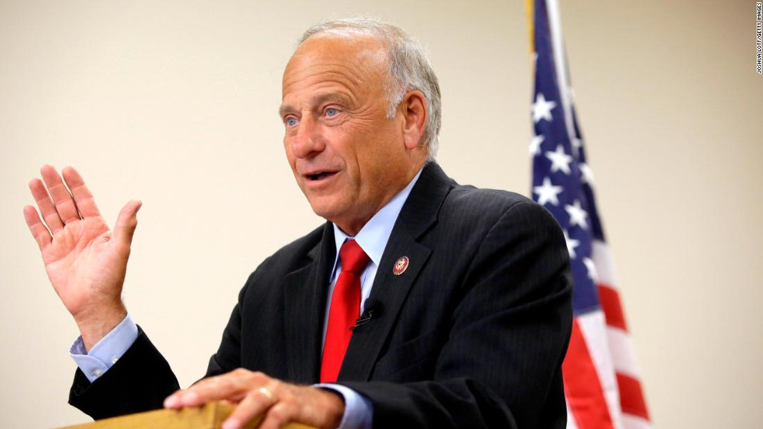 Steve King defends comments on abortion rape and incest at town hall