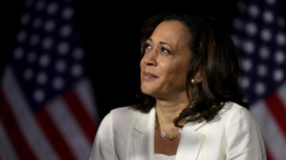 Democratic presidential candidate U.S. Sen. Kamala Harris (D-CA) looks on during a healthcare roundtable at The Loft at the First United Methodist Church on August 12, 2019 in Burlington, Iowa. (Justin Sullivan/Getty Images)