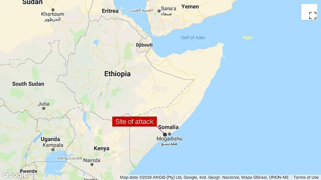 3 people killed in a foiled Al-Shabaab attack on a Somali military camp