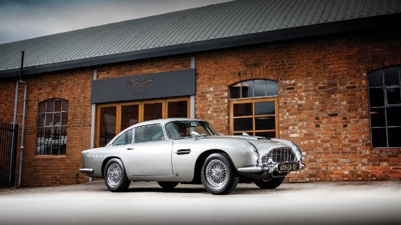 This Aston Martin DB5 has a full array of James Bond gadgets.