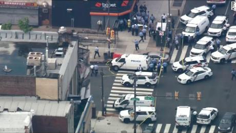 Police respond to shooting in Philadelphia